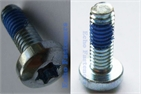 hex lobular semi-round head screw(glue Precote)