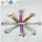Carbon Steel M20 Color Zinc High Strength Grade 8.8 Hex Flange Bolt